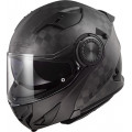 Casco convertible LS2 Helmets FF313 VORTEX SOLID Matt Carbon