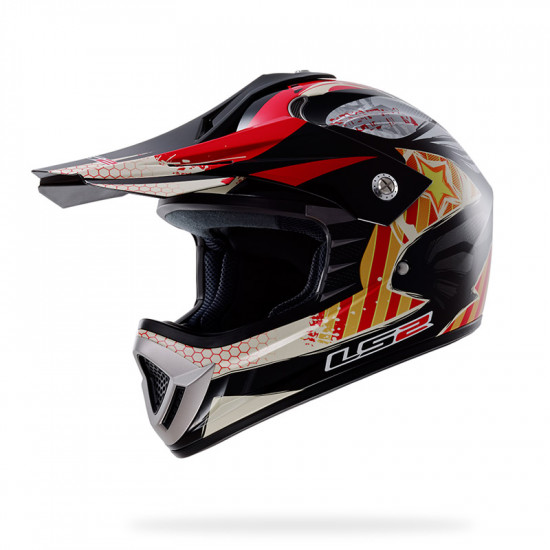 Casco JUNIOR LS2 MX426 NASTY JR ROX