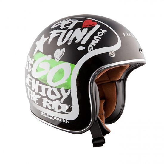 SUPEROFERTA: Casco jet LS2 Helmets OF583 ENJOY Black