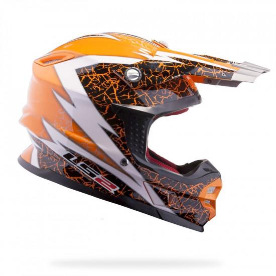 SUPEROFERTA: Casco cross/enduro LS2 MX456 CRAZE Orange