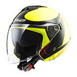 Casco jet LS2 Twister II
